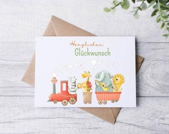 Postcard - Greeting Card - Birthday