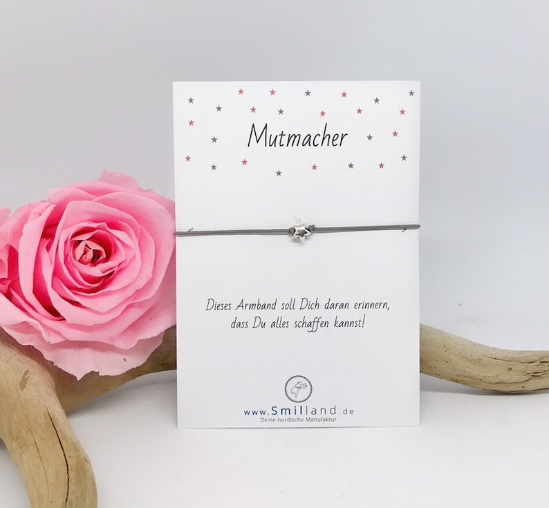 Mutmacher bracelet Star image 0
