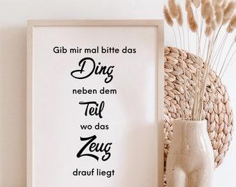 Das Ding - Poster