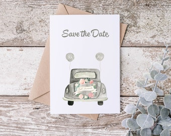 Postcard - Greeting Card - Save the Date