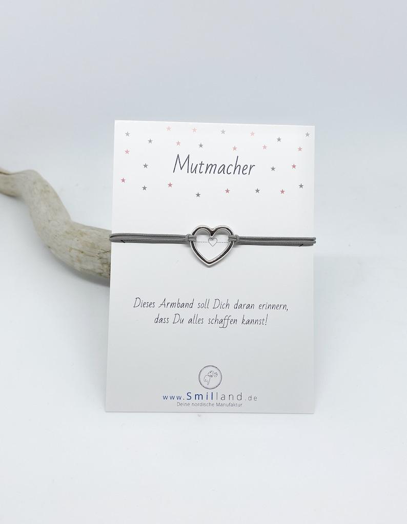 Mutmacher Bracelet Heart image 0