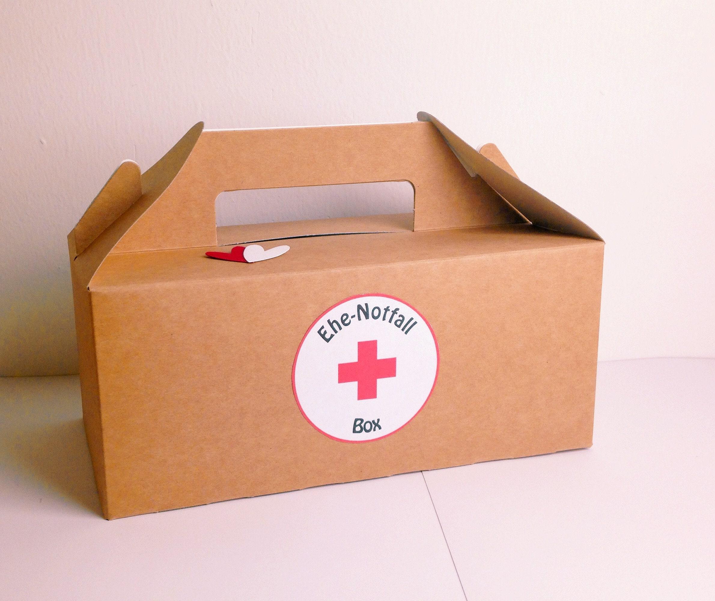 Ehe-Notfall-Box | Etsy