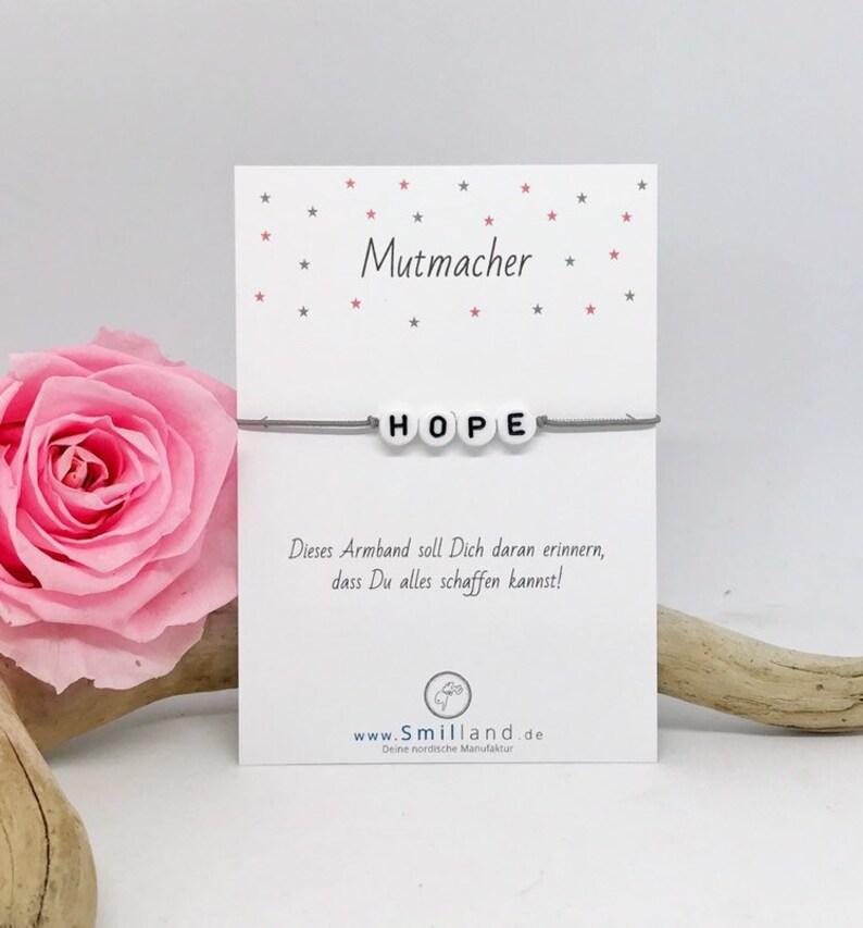 Mutmacher Bracelet Hope image 0
