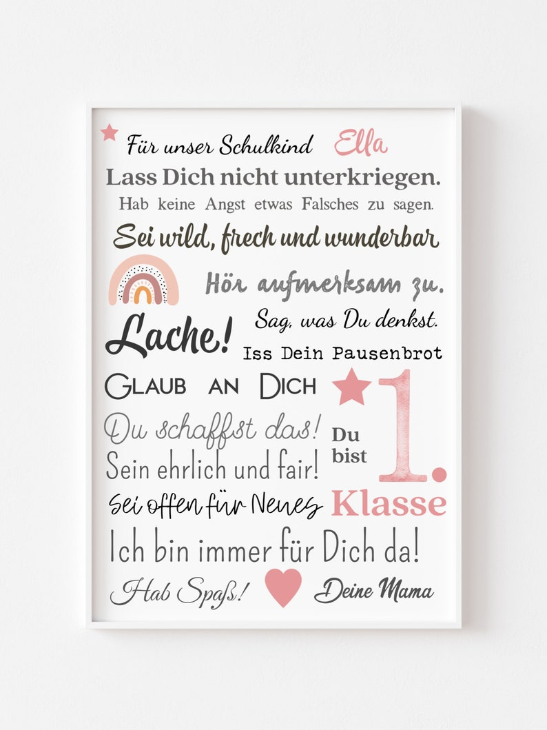 Poster  Encouragement for school enrolment girls image 0