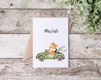 Postcard - Greeting Card - All the best