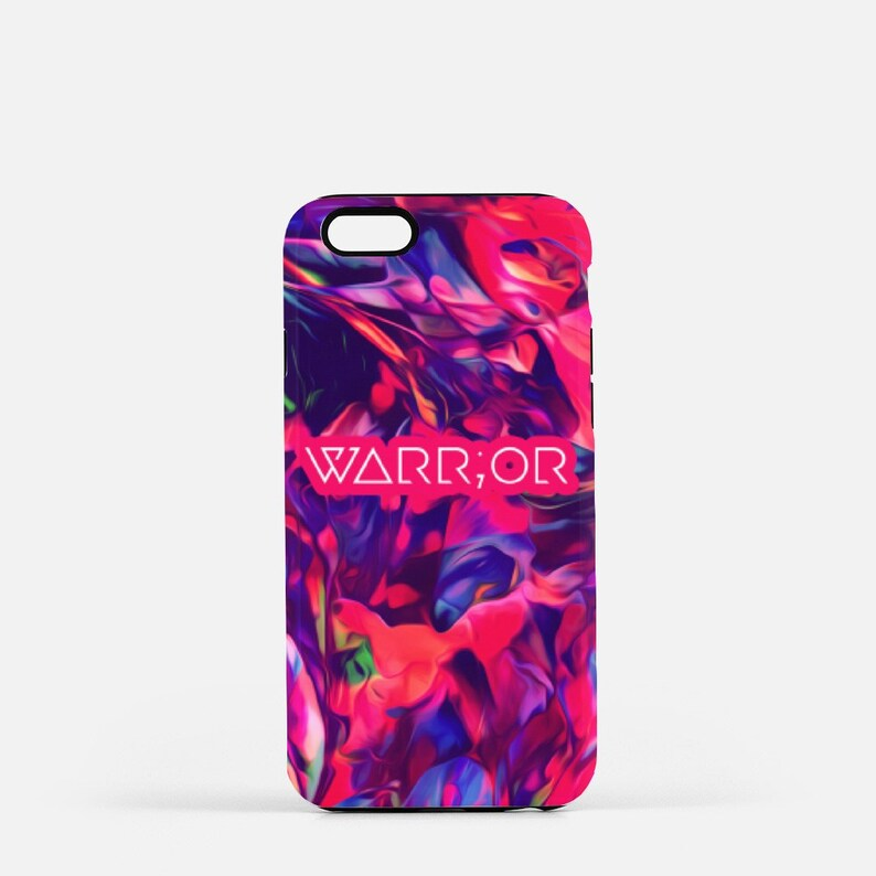 Semicolon Iphone Case Abstract Iphone Case Warrior Be image 0