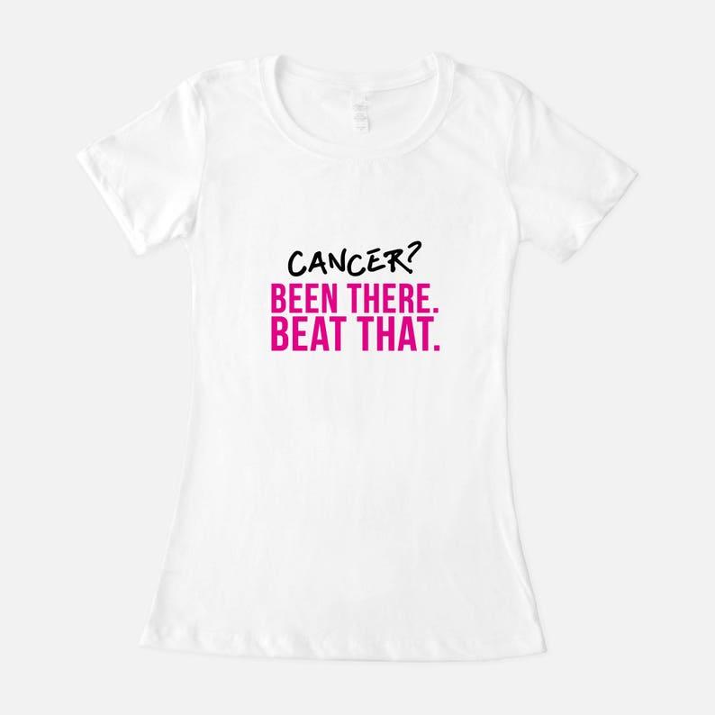 Cancer Survivor Shirt Breast Cancer Shirt Funny Cancer image 0