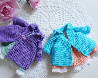 Blythe clothes crochet pattern / clothes for doll 25-30 cm / doll outfit crochet pattern