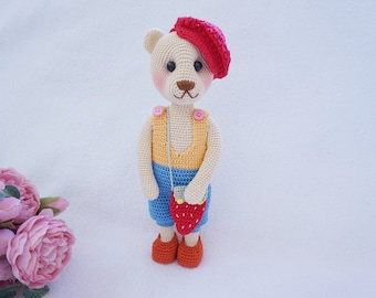 Pretty bear with outfit crochet pattern
