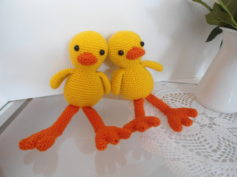 Amigurumi Duck Crochet Pattern Etsy