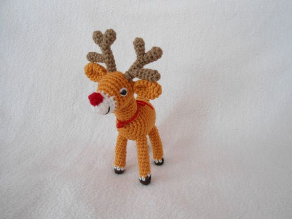Little reindeer crochet pattern | Etsy
