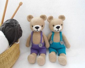 sweet bear crochet pattern