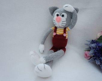 cat crochet pattern / amigurumi cat
