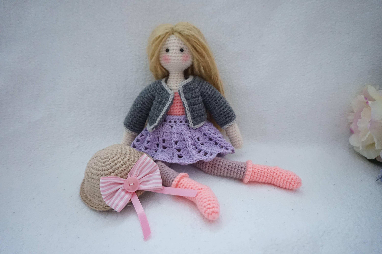 Doll Crochet Pattern Tilda Doll Crochet Etsy