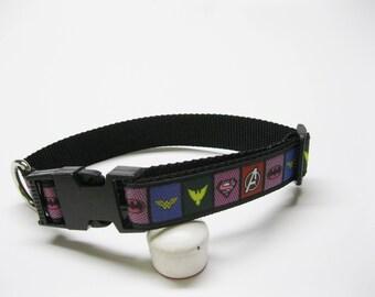 All The Super Hero's pet collar