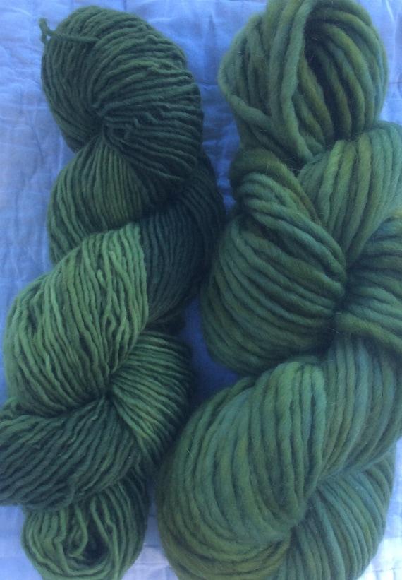 single ply worsted yarn