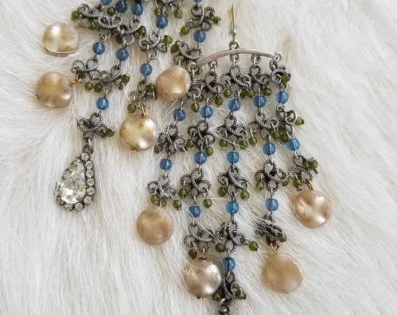 Delicate, Filigree Duster Earrings