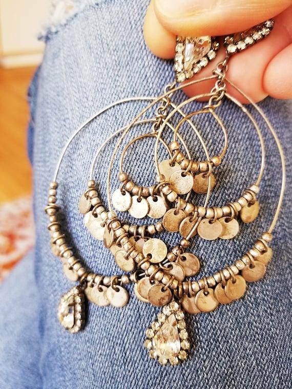 SOLD OUT! Vintage Hoop Earrings