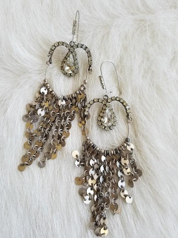 SOLD! Shimmery Duster Earrings