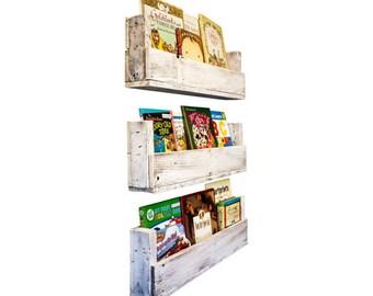 Nursery Bookshelves 28 Inch Set Of 3