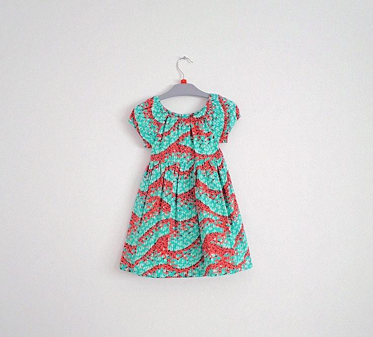 d45774e9f1f0 Baby Dress Girls Dress Toddler Dress Abstract Print Party