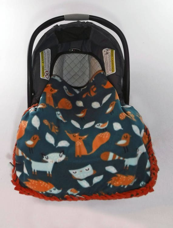 Wald-Fleece-Decke kein Nähen Decke kein Nähen Fleece Kit | Etsy