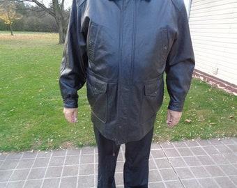54b254f706e mens Leather jacket