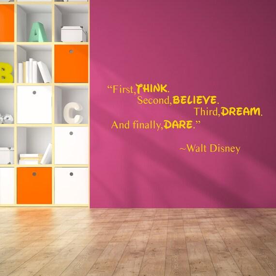 Walt Disney Zitat Wandtattoo Kunst Dekor Aufkleber Zitate Kinder Inspirierende Vinyl Aufkleber Motivation Nach Hause Beliebtes Zimmer Sprüche