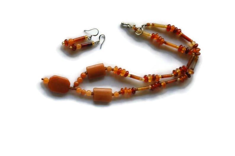 Beautiful Carnelian Necklace