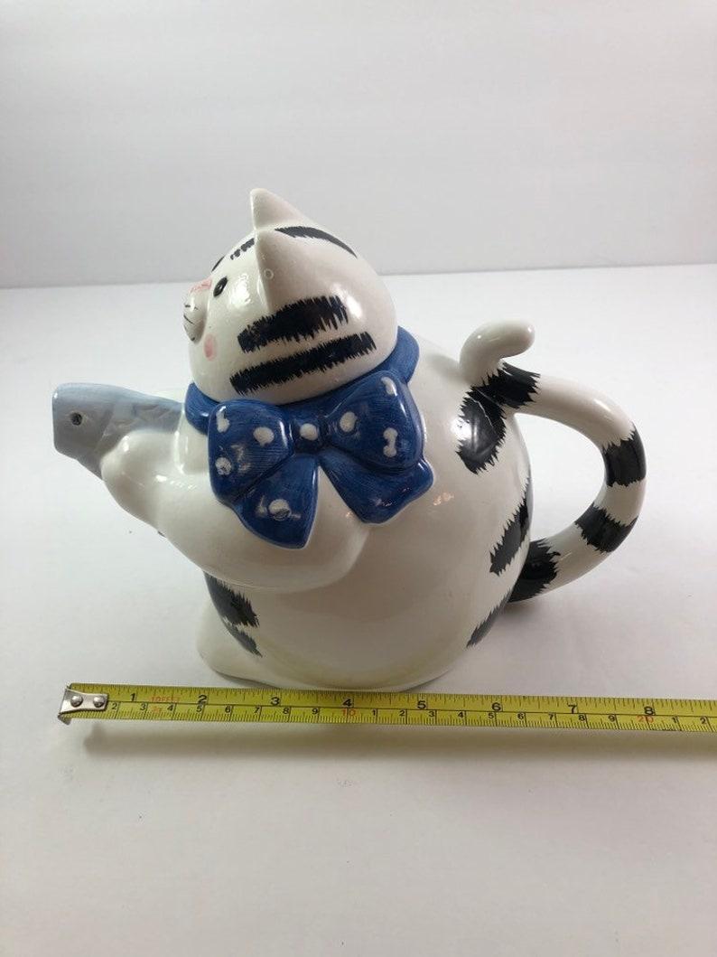 Cute Cat Teapot Fish Spout Taiwan