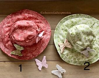 Sombrero de jardín vintage para Blythe