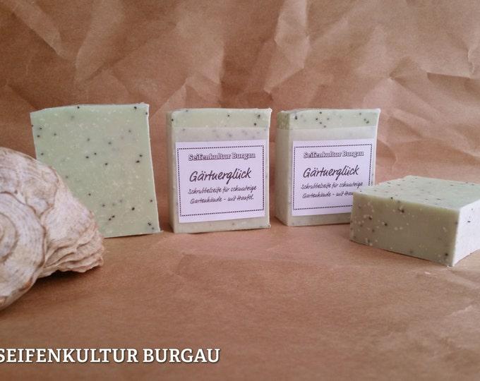 "Soap ""Gardener Luck"" with aloe vera + oil"