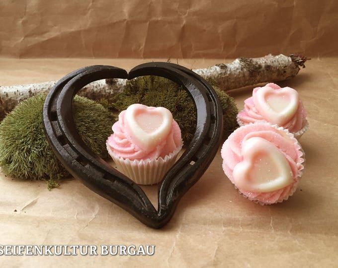 """Bath butter Cupcake """"Jasmin Glitter Heart"""""""