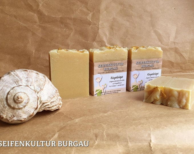 "Goat Milk soap ""marigold goat""-Free palm oil"