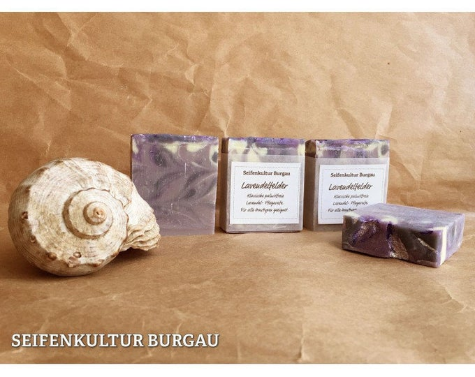 """Aromatic soap """"lavender fields"""", palm oil free"""