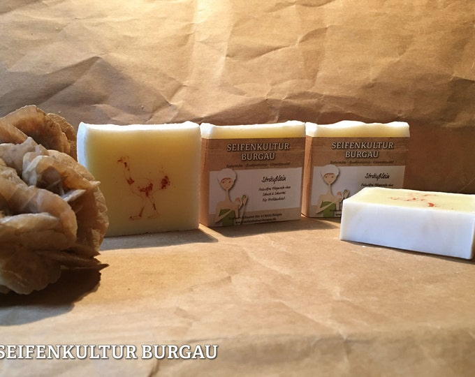 """Palm oil-free soap """"bouquet"""" with ostrich oil"""