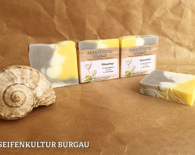 "Herbal soap ""rosemary""-palm oil Free"