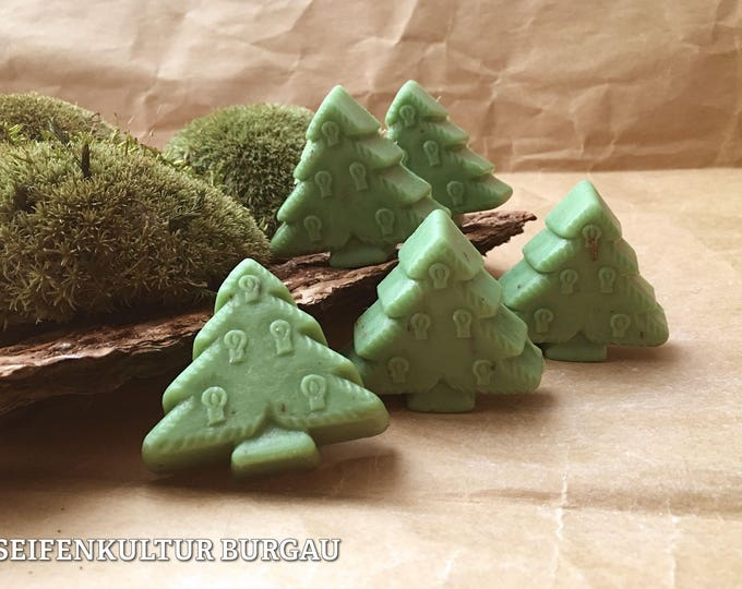 "Christmas soap Tree ""Queen of the Alps"""