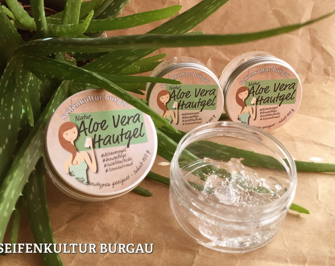 Aloe Vera gel-For all skin types-cools & Cares