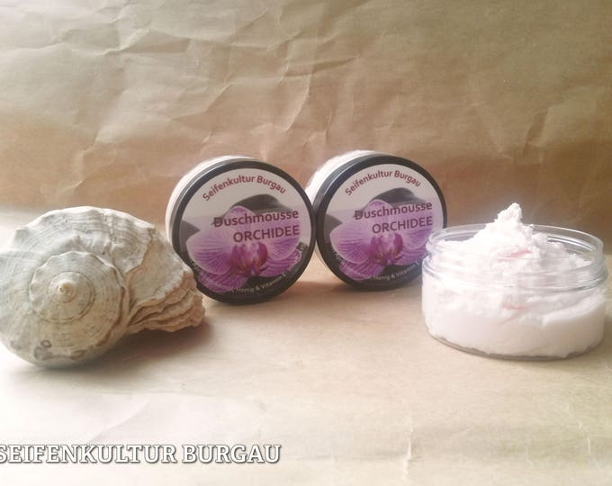 "Shower Mousse ""orchid"""