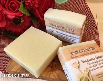 "Donkey milk soap ""Cleopatra's secret"" - palm oil-free, 100 g"