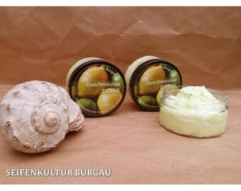"Shower Mousse ""Citrus & lime"""