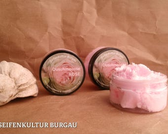 "Shower mousse ""Rose Garden"""