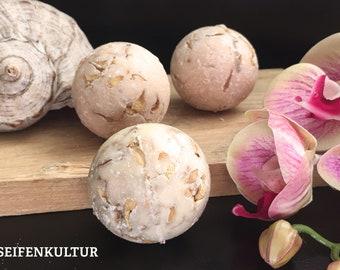 "Bath butter truffle ""Orange Almond"" with sheep's milk, 50 g"
