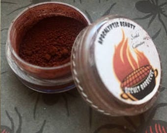 Occult Barbecue - matte red vegan eyeshadow