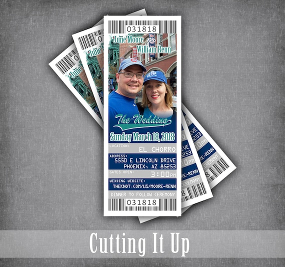 baseball save the date ticket magnets save our date wedding etsy