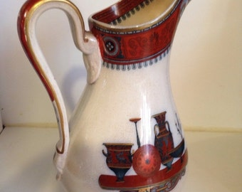 Antique Etruscan vases pitcher