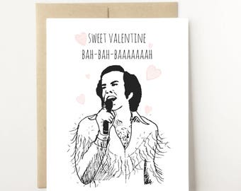Funny Valentine Card Etsy