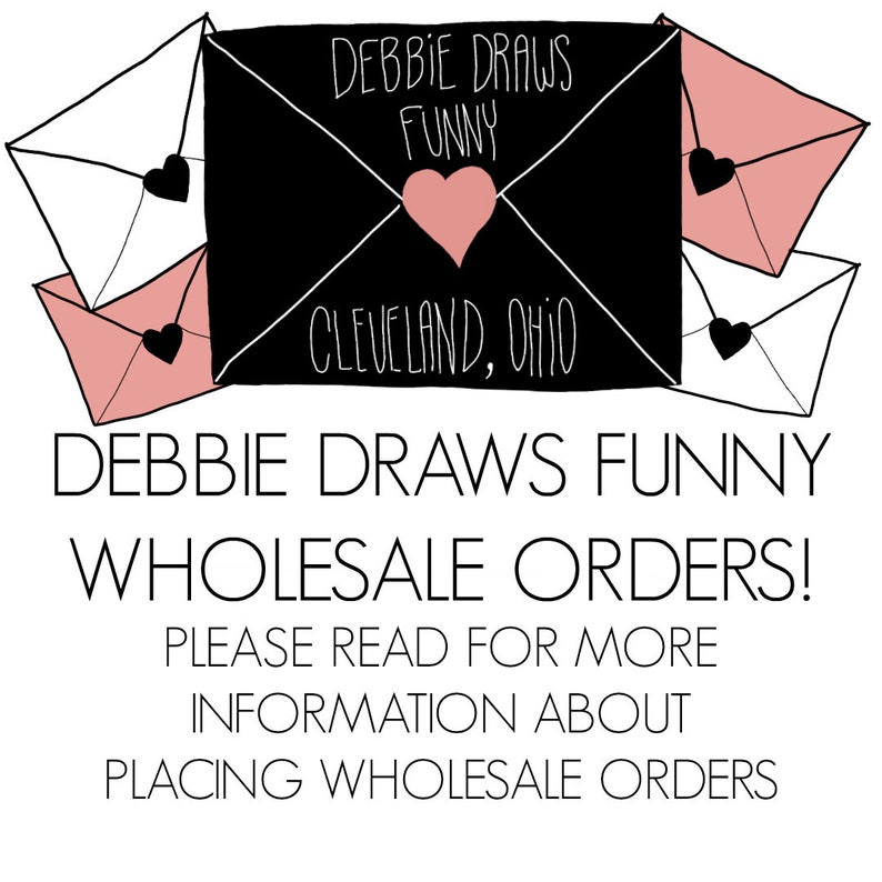 WHOLESALE Greeting Cards Wholesale Stationery Debbie Draws