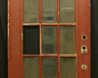 36x83 Antique Oak Exterior Entry French Door 15 | Etsy